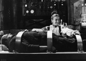 """Young Frankenstein""Cloris Leachman, Peter Boyle1974** I.V. - Image 24383_0610"