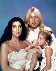 Cher, Gregg Allman, Chaz Bono and Elijah Allmancirca 1976** I.V. - Image 24383_0665