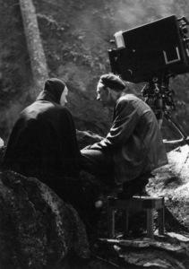 """The Seventh Seal""Bengt Ekerot, director Ingmar Bergman1957** I.V. - Image 24383_0679"