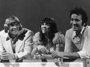 "The Carpenters (Richard Carpenter and Karen Carpenter) with Herb Alpert on the variety show, ""Make Your Own Kind of Music""1971** I.V.M. - Image 24383_0776"