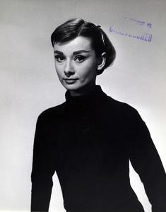 """""""Funny Face""""Audrey Hepburn1957Photo by Bud Fraker** I.V. - Image 24383_0781"""