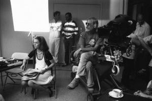 "Jane Fonda, Bruce Dern and director Hal Ashby during the making of ""Coming Home""1978** I.V. - Image 24383_0821"