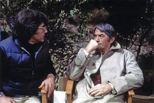 """""""The Omen""""Director Richard Donner, Gregory Peck1976** I.V. - Image 24383_0830"""