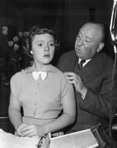 """""""Strangers on a Train""""Patricia Hitchcock, director Alfred Hitchcock1951** I.V. - Image 24383_0867"""