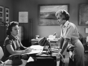 """Patricia Hitchcock and Janet Leigh in """"Psycho""""1960Photo by William Creamer** I.V. - Image 24383_0869"""