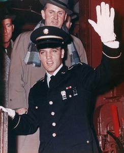 Elvis Presley and Colonel Tom Parkercirca 1960** I.V. - Image 24383_0891
