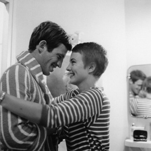 """""""Breathless""""Jean-Paul Belmondo, Jean Seberg1960** I.V. - Image 24383_0906"""