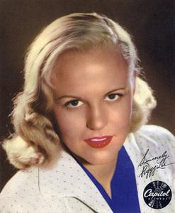 Peggy Leecirca 1950s** I.V. - Image 24383_0935