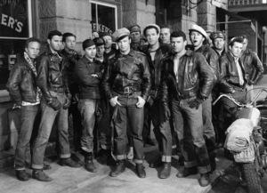 """The Wild One""Marlon Brando1953** I.V. - Image 24383_0956"