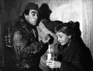 """""""La Strada""""Anthony Quinn, Giulietta Masina1954** I.V. - Image 24383_0970"""