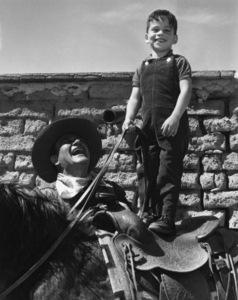 John Wayne with his son, Ethan Wayne1965** I.V. - Image 24383_0984