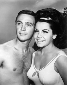 """""""Pajama Party""""Tommy Kirk, Annette Funicello1964** B.D.M. - Image 24384_0122"""