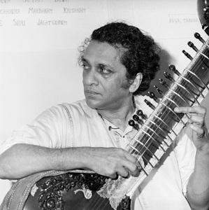 Ravi Shankar at The Ravi Shankar Schoolcirca 1960s** J.C.C. - Image 24385_0001