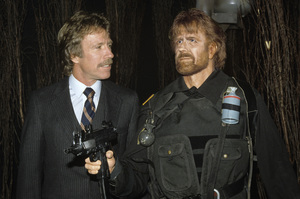 Chuck Norris and his Movieland Wax Museum counterpartcirca 1980s© 1980 Jean Cummings - Image 24385_0035