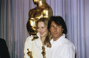 Dustin Hoffman and Meryl Streep at the Academy Awards1980© 1980 Jean Cummings - Image 24385_0036