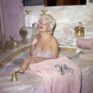Jayne Mansfield at homecirca 1960s** J.C.C. - Image 24385_0042