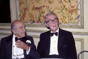 Frank Capra and James Stewartcirca 1970s© 1978 Jean Cummings - Image 24385_0050