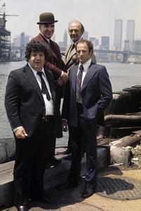 """Kojak""George Savalas, Telly Savalas, Dan Frazer, Kevin Dobsoncirca 1975** J.C.C. - Image 24385_0068"