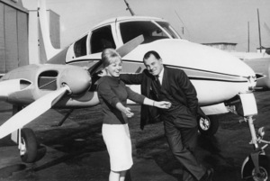 F. Lee Bailey and his wife, Froma Portneycirca 1960s** J.C.C. - Image 24385_0101