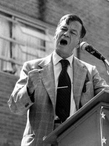 Herman Talmadge, U.S. Senator from Georgia, in Alpharetta1979© 1979 Ron Sherman - Image 24387_0003