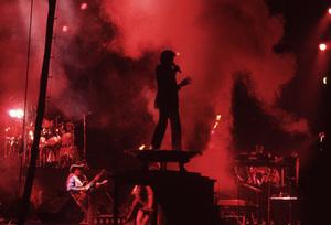 Michael Jackson and the Jackson Five performing in Atlanta, Georgia1981© 1981 Ron Sherman - Image 24387_0004
