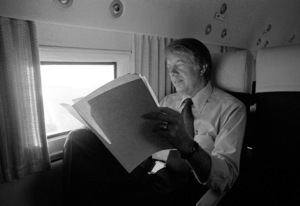 Jimmy Carter on a Florida campaign trip1975© 1978 Ron Sherman - Image 24387_0005