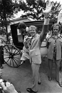 Jimmy Carter campaigning in Westville, George on the 4th of July1976© 1978 Ron Sherman - Image 24387_0006