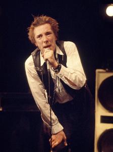 Johnny Rotten of the Sex Pistols performing in Atlanta, Georgia1976© 1978 Ron Sherman - Image 24387_0010