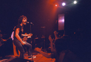 Buce Springsteen and the E Street Band performing in Atlanta, Georgia1975© 1978 Ron Sherman - Image 24387_0014