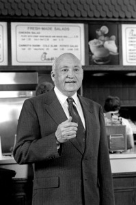 S. Truett Cathy (Chick-fil-A founder) in Atlanta, Georgia 1984© 1984 Ron Sherman - Image 24387_0015