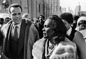 Coretta Scott King and Harry Belafonte at a Martin Luther King Jr. birthday celebration in Atlanta1975© 1978 Ron Sherman - Image 24387_0047