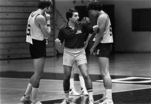 Mike Krzyzewski, basketball coach at Duke University1981© 1981 Ron Sherman - Image 24387_0052