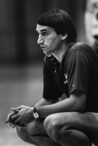 Mike Krzyzewski, basketball coach at Duke University1981© 1981 Ron Sherman - Image 24387_0054