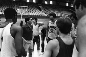 Mike Krzyzewski, basketball coach at Duke University1981© 1981 Ron Sherman - Image 24387_0055