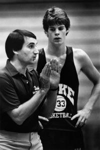 Mike Krzyzewski, basketball coach at Duke University1981© 1981 Ron Sherman - Image 24387_0056