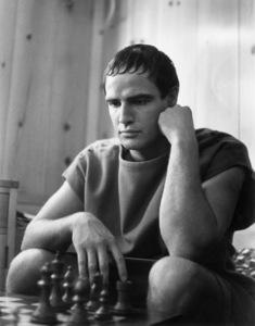 "Marlon Brando during the making of ""Julius Caesar""1952© 1978 Ruth Orkin - Image 24388_0001"