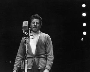 Danny Kaye during a WNBC broadcastcirca 1950© 1978 Ruth Orkin - Image 24388_0005