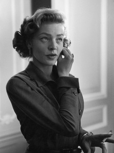 Lauren Bacall in a New York City hotel room1950© 1978 Ruth Orkin - Image 24388_0010