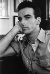 """Montgomery Clift on the set of  """"I Confess"""" in Hollywood, California1953© 1978 Ruth Orkin - Image 24388_0011"""