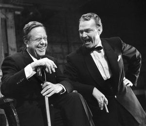 Robert Z. Leonard and Red Skelton circa 1950s© 1978 Ruth Orkin - Image 24388_0013