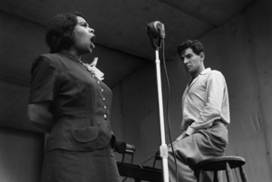 Marian Anderson and Leonard Bernstein at Lewisohn Stadium in New York City1947© 1978 Ruth Orkin - Image 24388_0021