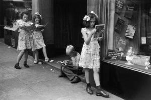 Comic book readers in New York City1947© 1978 Ruth Orkin - Image 24388_0033