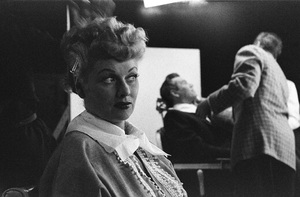 """I Love Lucy"" (Episode: Lucy Is Enceinte)Lucille Ball, Desi Arnaz1952© 1978 Ruth Orkin - Image 24388_0046"