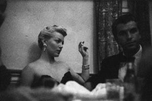 Lana Turner and Fernando Lamas at a party given by Marion Davies 1950 © 1978 Ruth Orkin - Image 24388_0051