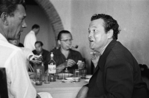 Orson Welles and Joseph Cotten at the Venice Film Festival in Italy1951© 1978 Ruth Orkin - Image 24388_0053
