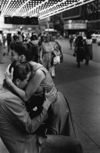 A couple embracing on a New York City street1948© 1978 Ruth Orkin - Image 24388_0061