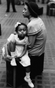 A mother and daughter at Penn Station in New York City1948© 1978 Ruth Orkin - Image 24388_0068