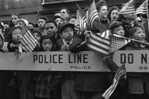 Kids at a parade in New York City1948© 1978 Ruth Orkin - Image 24388_0070
