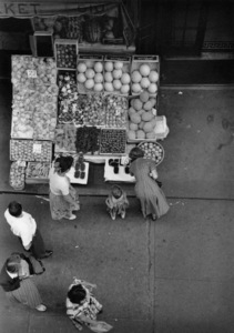 Fruit stand from above a New York City street1948© 1978 Ruth Orkin - Image 24388_0079