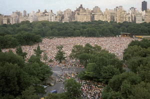 A philharmonic concert on Sheep Meadow near the southwestern section of Central Park Manhattan, New York City1978© 1978 Ruth Orkin - Image 24388_0080